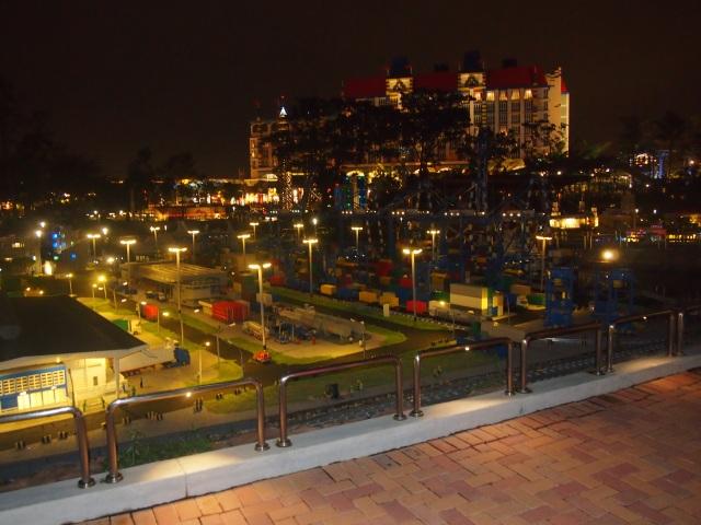 PSA night view
